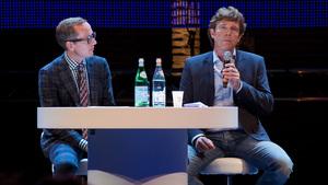 John de Mol bij Room for Discussion: 'Televisie verdwijnt nooit'