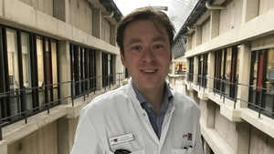 Louis Vermeulen (33) is jongste AMC-hoogleraar ooit