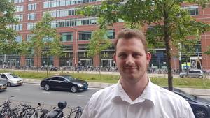 Marco Kloek is de eerste studentassessor van de HvA