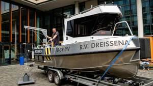 UvA-onderzoekers hoeven niet meer in een roeiboot het Markermeer op