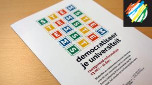 Oranje besturingsmodel krijgt meeste stemmen bij UvA-referendum