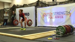 UvA-student wil de sterkste vrouw van Nederland worden