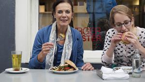 Louise Fresco heeft toch een hamburger gegeten